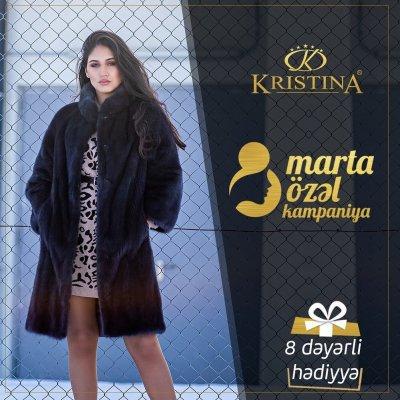 Kristinadan 8 Marta özəl Kampaniya